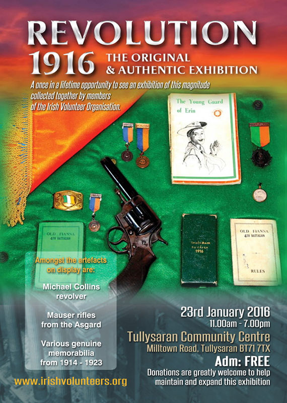 Tullysaran Exhibition announcement