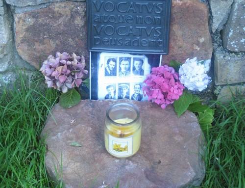 A roadside tribute below Ben Bulben to Sligo's Noble Six – Republican Plot Sligo