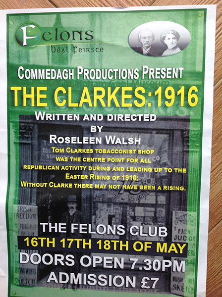 The Clarkes: 1916 by Roseleen Walsh