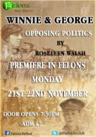 Winnie & George Opposing Politics by Roseleen Walsh