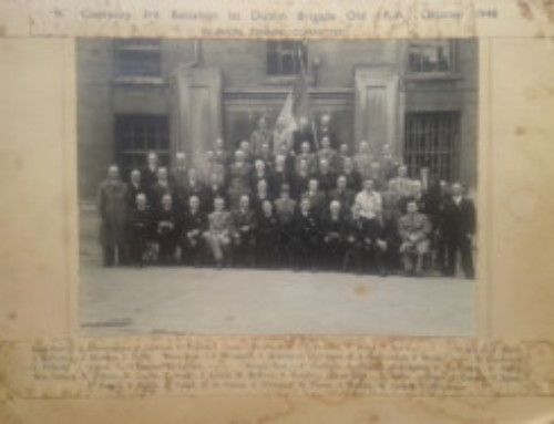 IRA company 3rd battalion dublin brigade 1948 reunion dinner