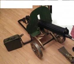 The Aud and the 10 Maxim 1910 Maxim Machine Guns