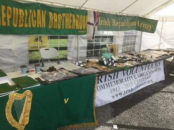 IVCO, Irish Volunteers Commemorative Organisation display at Ashbourne, County Meath, April 22 ,2018