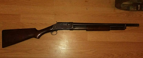 Royal Irish Constabulary Winchester Riot Gun marked to the RIC