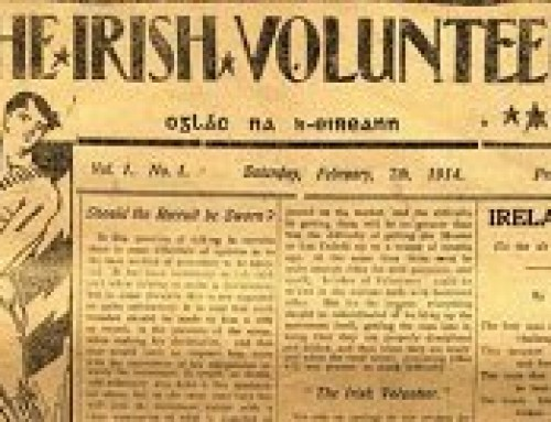 Irish Volunteer Newsletter October 31,2020.
