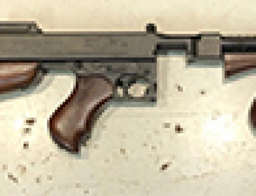 IRA Thompson Sub Machine Gun