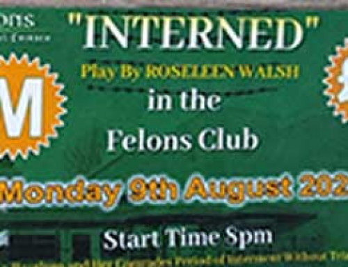 Interned by Roseleen Walsh